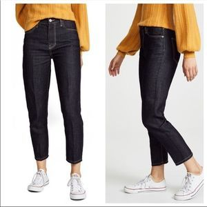 New CURRENT ELLIOT  High Rise Cropped Jeans 29